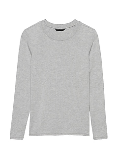 Soft Stretch Crew-Neck T-Shirt