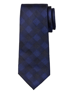 Buffalo Check Silk Nanotex® Tie