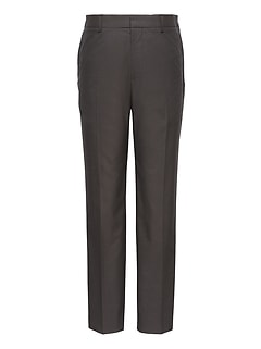 Athletic Tapered Non-Iron Stretch Cotton Solid Pant
