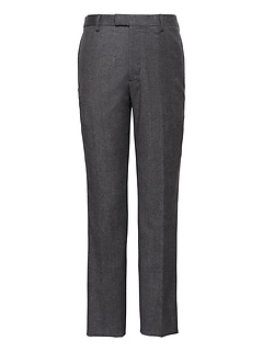 Athletic Tapered Flannel Dress Pant