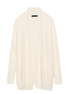 Fuzzy Long Cardigan Sweater