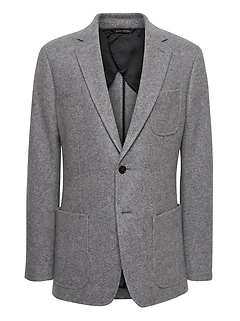 Slim Italian Motion-Stretch Blazer
