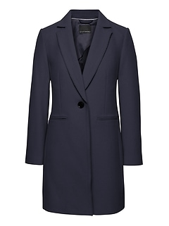 Italian Melton Car Coat