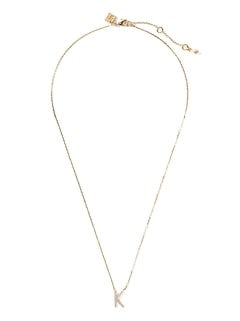 Pavé K Necklace