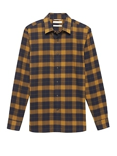 Heritage Buffalo Plaid Flannel Shirt