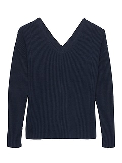 JAPAN EXCLUSIVE Reversible V-Neck Sweater