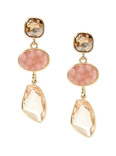 Soft Stones Drop Earrings