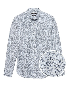 Standard-Fit Cotton Oxford Shirt