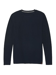 Polartec® Power Grid® Crew-Neck Sweatshirt