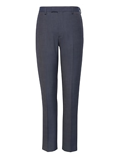 Slim Tapered Smart-Weight Performance Suit Pant