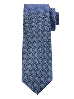 Geo Weave Silk Nanotex® Tie