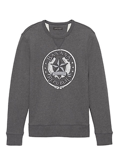 French Terry Archival Logo Sweatshirt