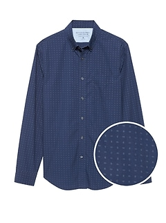 Slim-Fit Luxe Poplin Shirt
