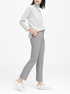 Ryan Slim Straight-Fit Washable-Wool Blend Pant