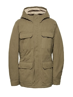 Water-Resistant Sherpa Field Jacket