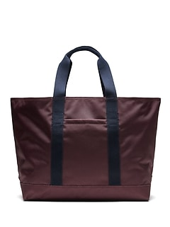 Two-Tone Large Tote Bag