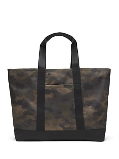 Camouflage Large Tote Bag