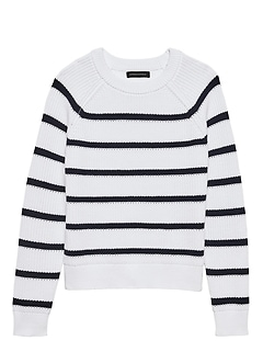 Chunky Ribbed Stripe Sweater