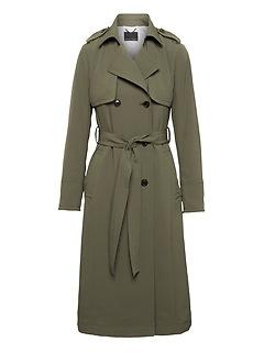 Maxi Trench Coat