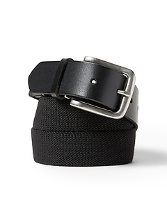 Stretch-Web Buckle Belt
