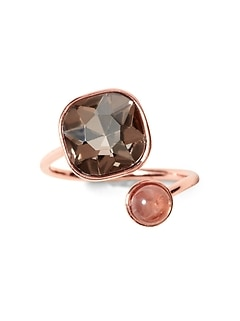 Soft Stones Asymmetrical Ring