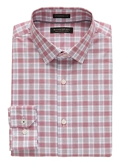 Camden Standard-Fit Non-Iron Tartan Plaid Shirt