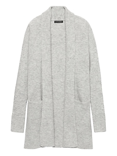 Aire Long Cardigan Sweater