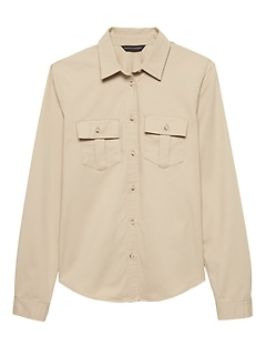Quinn Straight-Fit Utility Shirt
