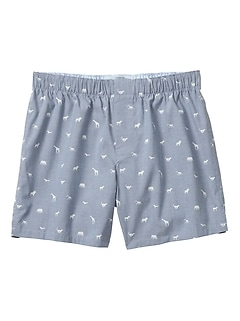 Chambray Safari Silos Boxer