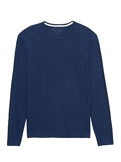 Vintage 100% Cotton Long-Sleeve T-Shirt