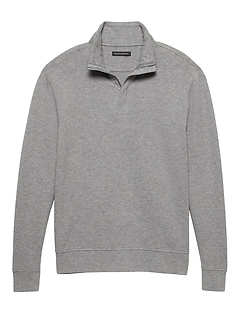 Cozy Half-Zip Sweatshirt
