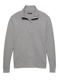 Cozy Half-Zip Sweatshirt