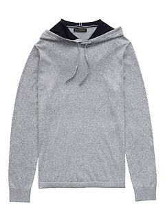 SUPIMA® Cotton Sweater Hoodie