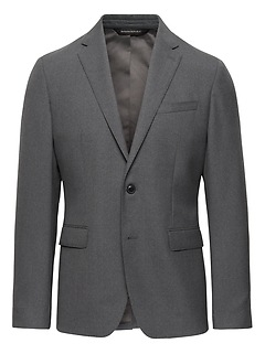 Heritage Slim Italian Wool Suit Jacket