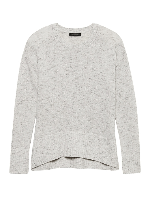 Relaxed Space-Dye Sweater