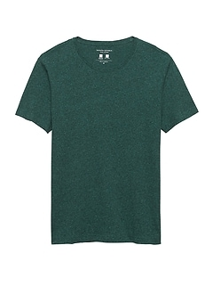 Tech Cotton Crew-Neck T-Shirt