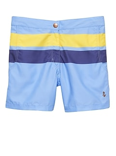 Retromarine &#124 Wide Stripe Swim Short