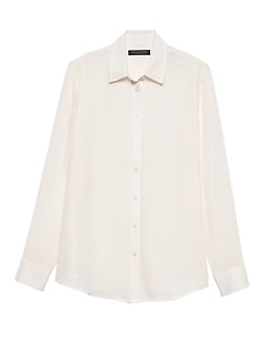 Petite Dillon Classic-Fit Solid Shirt