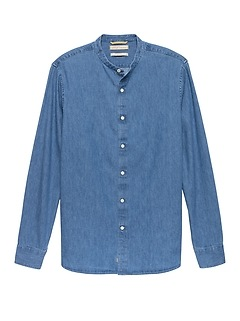 Heritage Slim-Fit Chambray Shirt