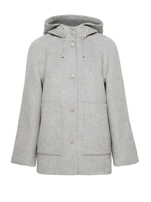 Double-Faced Hooded Jacket