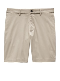 "9"" Slim Stretch-Cotton Short"