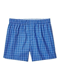 Alvin Plaid Boxer