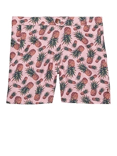 Retromarine &#124 Pineapple Print Swim Short