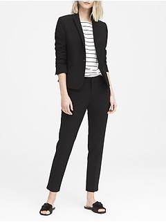 Classic-Fit Washable Italian Wool-Blend Blazer
