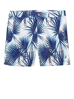 Retromarine &#124 Tropical Camo Swim Short