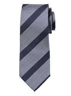 Textured Stripes Nanotex® Tie
