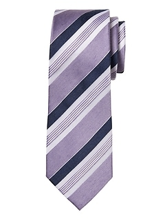 Heathered Stripe Nanotex® Tie
