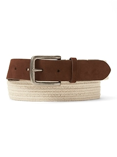 Stretch Webb Buckle Belt