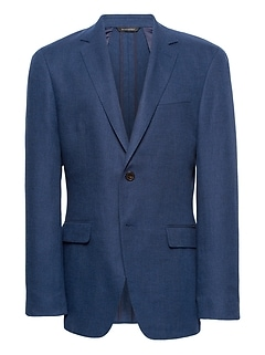 Slim Linen-Cotton Blazer
