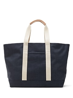 Heathered Large Tote